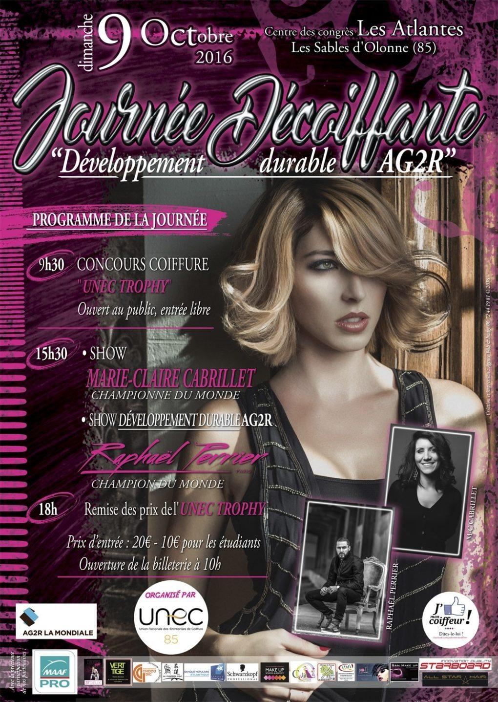 Shows et concours coiffure Les Sables-d'Olonne