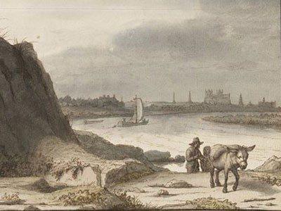 Sous l'œil du conservateur : Vue de Nantes de L. Doomer Nantes