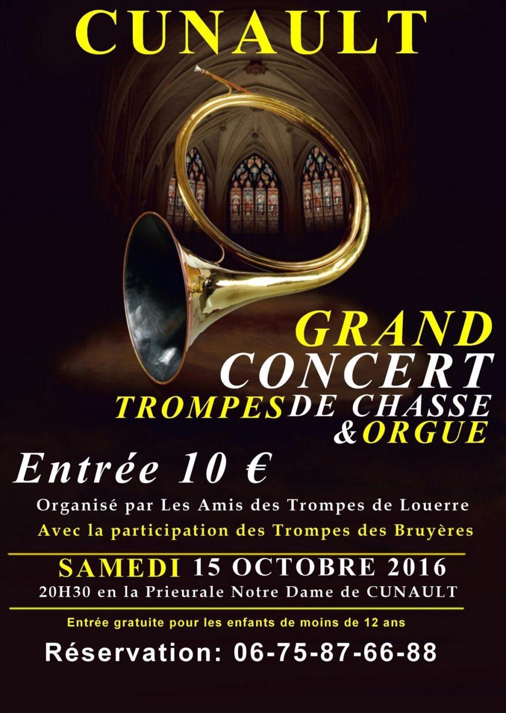 Trompes de chasse et Orgue Gennes-Val de Loire