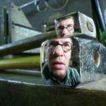 Exposition 3 CHA : Pierre Gaucher : Sculptures d'acier face à face, corps à corps