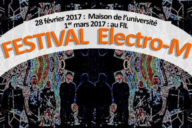 saint tienne festival electro m 1 mars 2017 unidivers. Black Bedroom Furniture Sets. Home Design Ideas
