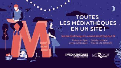 Rennes Métropole portail des médiathèques