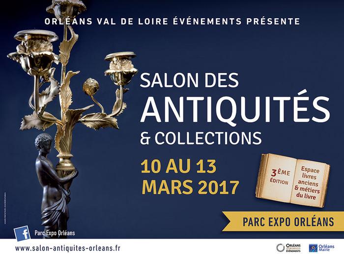 Orl ans salon des antiquit s et collections 10 mars 2017 for Orleans salon