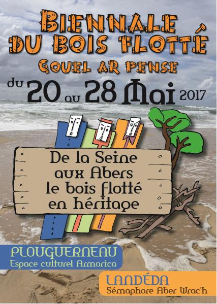Exposition gouel ar pe se biennale du bois flotte for Bois flotte nantes