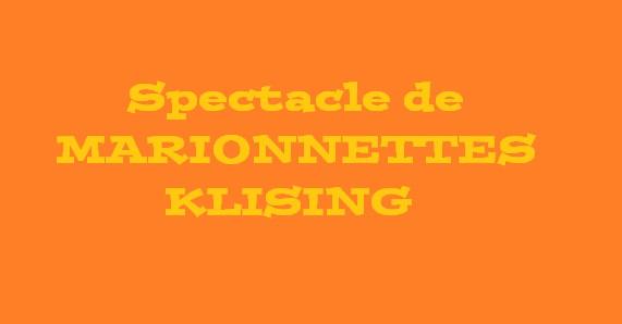 MARIONNETTES KLISSING CROZON