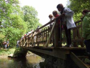 Randonnée Saint-Thégonnec Patrimoine Vivant Park an Iliz