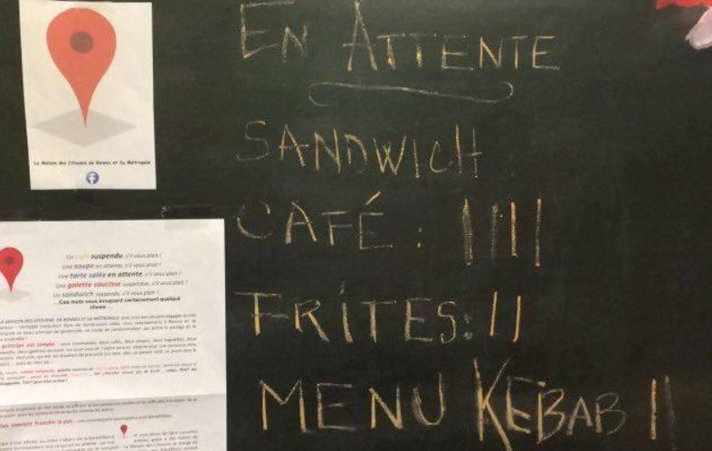 CAFÉ SUSPENDU Rennes