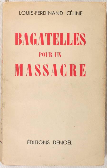 Bagatelles pour un massacre CELINE