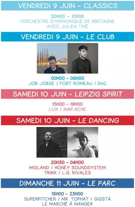 Big Love 3 : Crab Cake aime Rennes les 9, 10 et 11 juin 2017