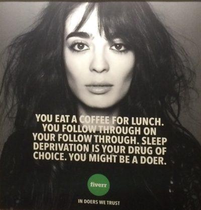 FIVERR campagne publicité