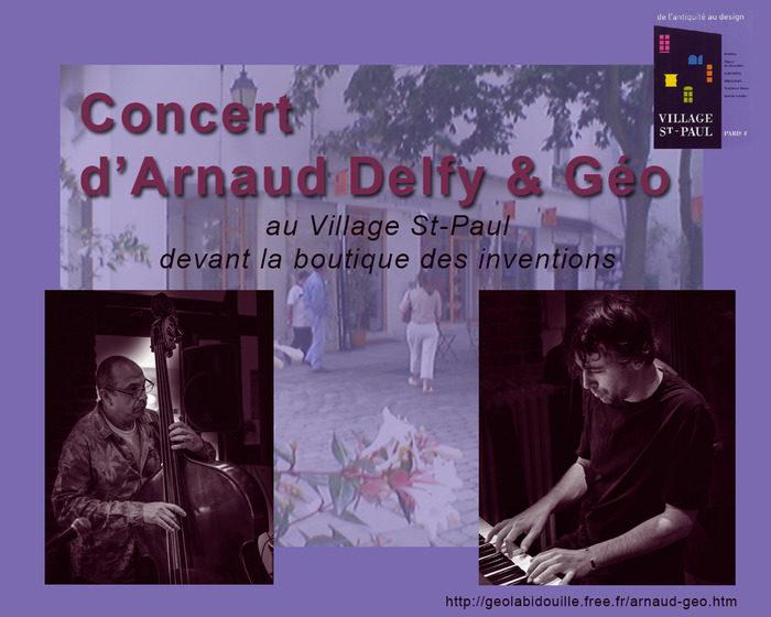 Arnaud Delfy & Géo Village St-Paul (cour orange) 13 rue St Paul 75004 PARIS Paris