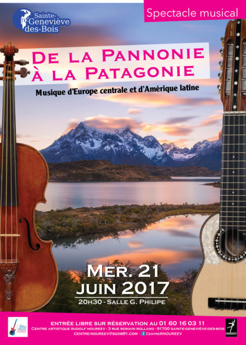 De la Pannonie à la Patagonie salle Gérard Philipe Sainte-Geneviève-des-Bois
