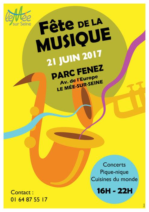 F te de la musique au m e parc fenez le m e sur seine 21 juin 2017 unidivers - Fete de la musique 2017 date ...