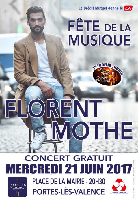 Florent Mothe Place de la République Étoile-sur-Rhône