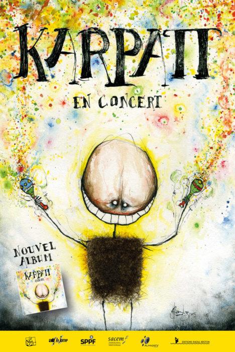 Karpatt en concert (Première partie par Karynn Lem's) Parc du Gros Buisson Vigneux-sur-Seine