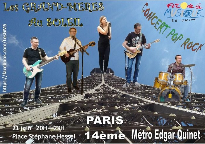 Les Grand-Mères au Soleil Place Stéphane Hessel Paris
