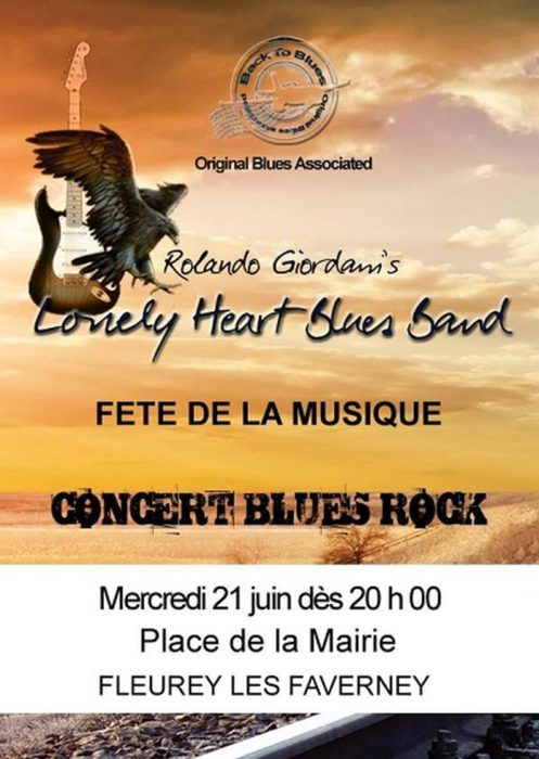 Lonely Heart Blues Band Fleurey-les-Faverney 70160 Chesley