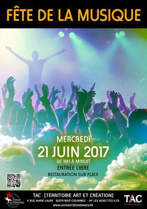 Soir e musicale clectique tac bois colombes 21 juin 2017 unidivers - Fete de la musique 2017 date ...