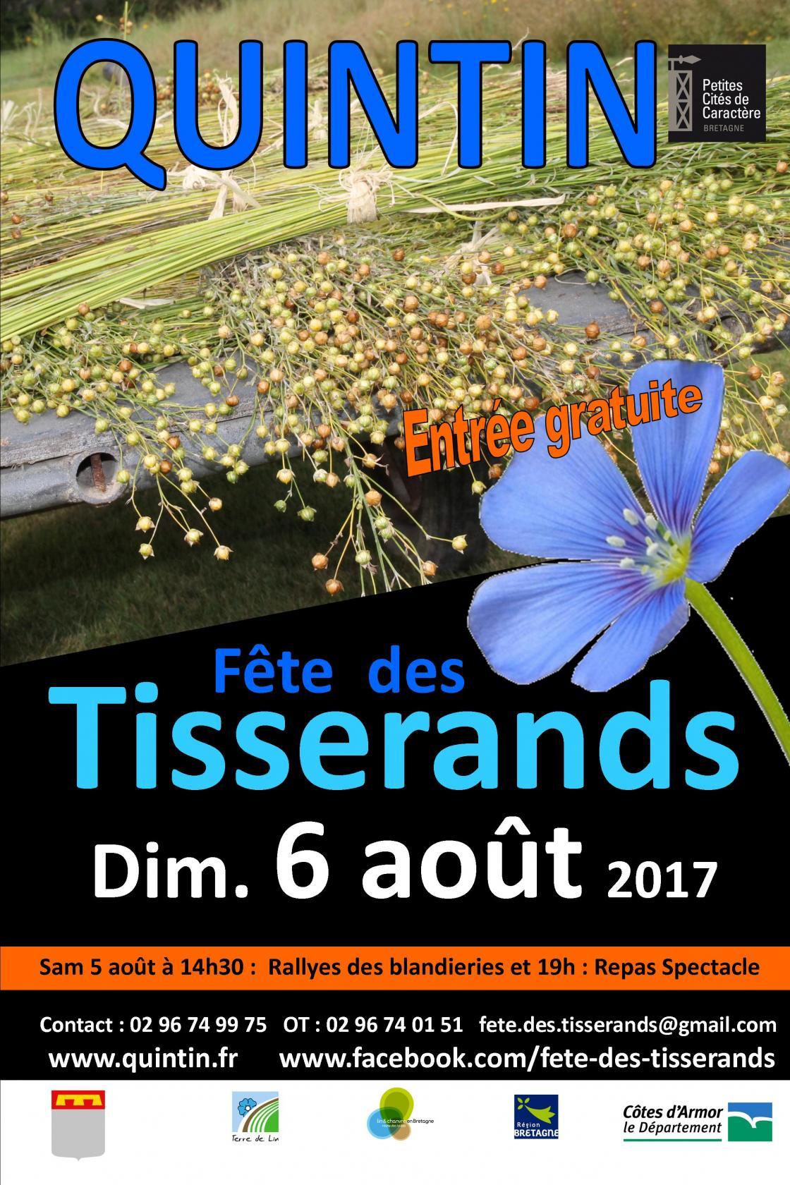 25è Fête des Tisserands Quintin