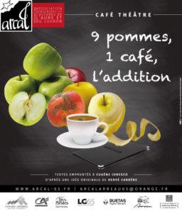 9 POMMES, 1 CAFE, L'ADDITION !