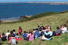Balade contée plage du Veryac'h avec Isabelle Diverrez Camaret-sur-Mer