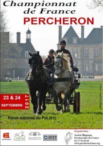 Championnat de France Percheron, au Haras National du Pin (61)