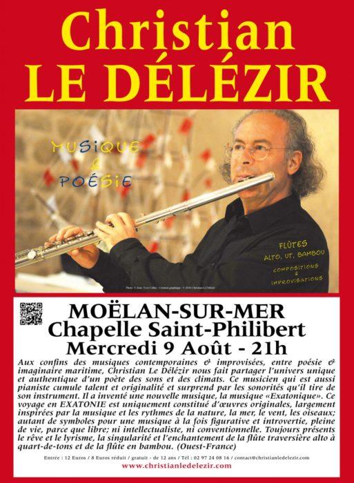 Chapelle en fête - Christian Le Délézir Moëlan-sur-Mer