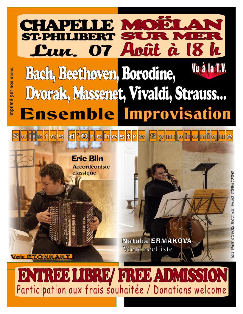 Chapelle en fête - Ensemble Improvisation Moëlan-sur-Mer