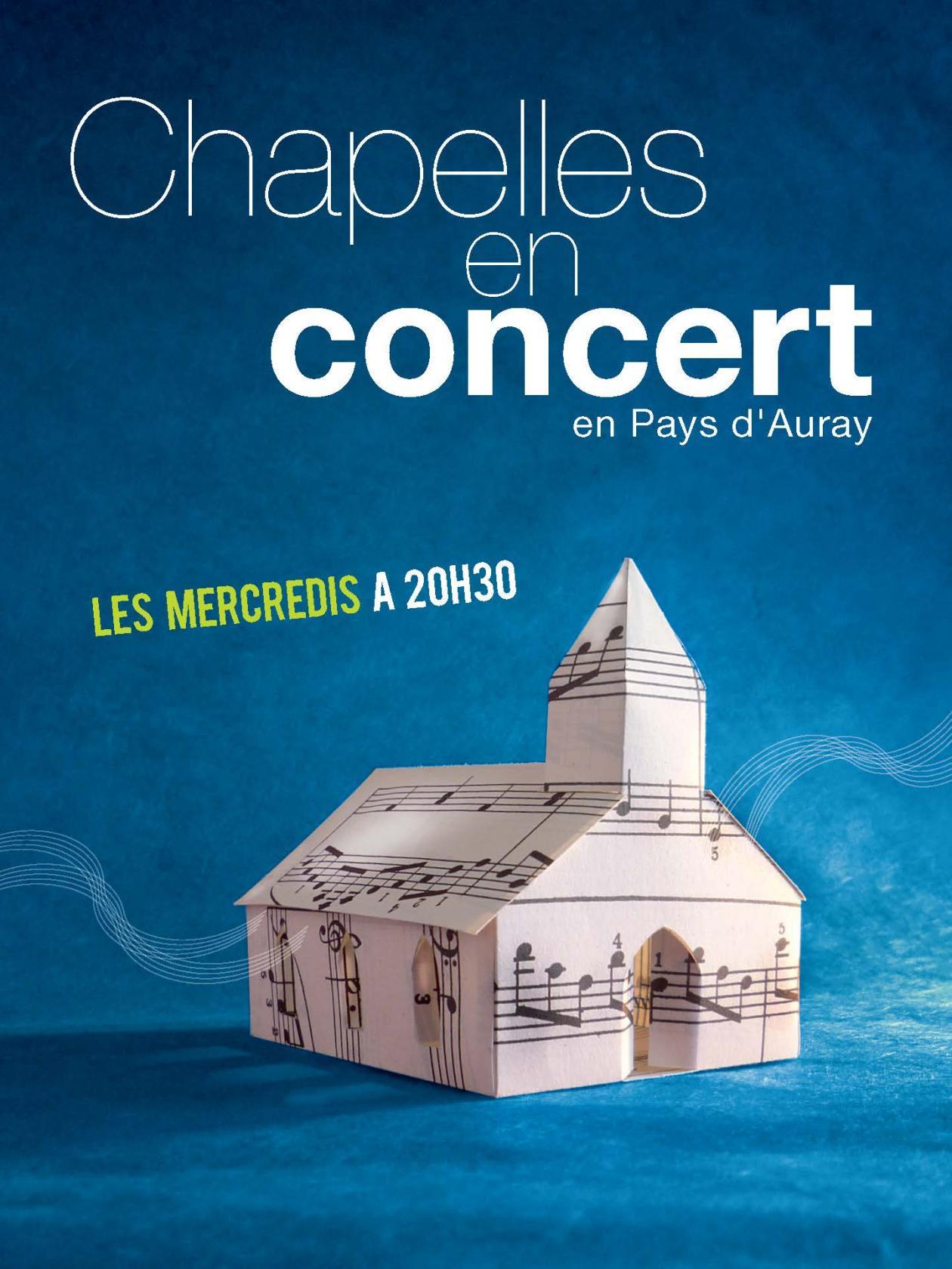 Chapelles en concert à Sainte-Avoye PLUNERET