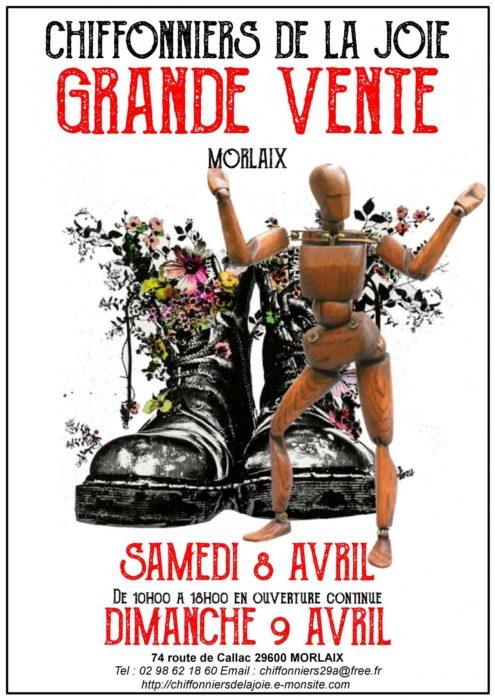 CHIFFONNIERS DE LA JOIE GRANDE VENTE MORLAIX