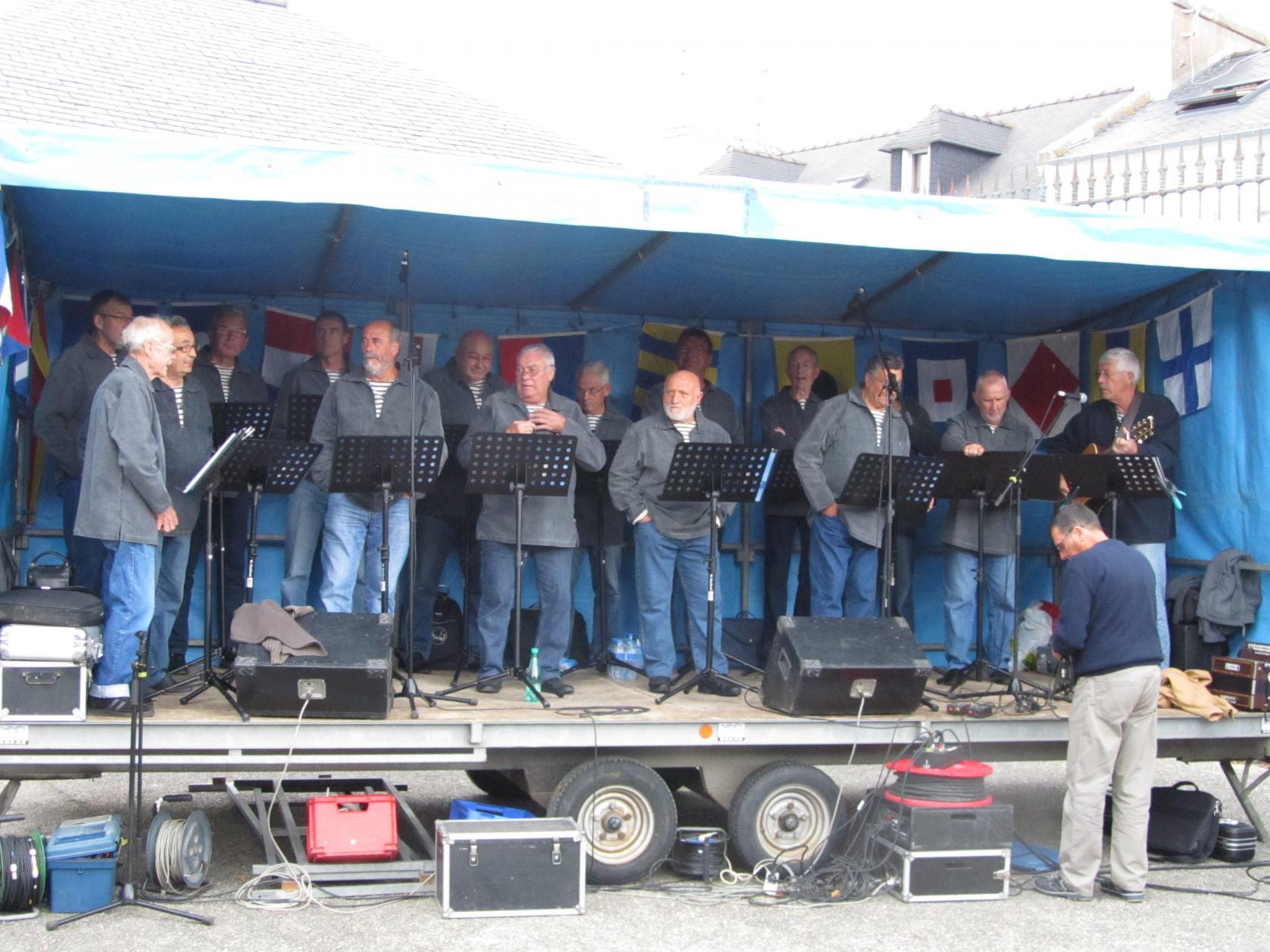 Concert des Gabiers du Drellac'h Le Conquet