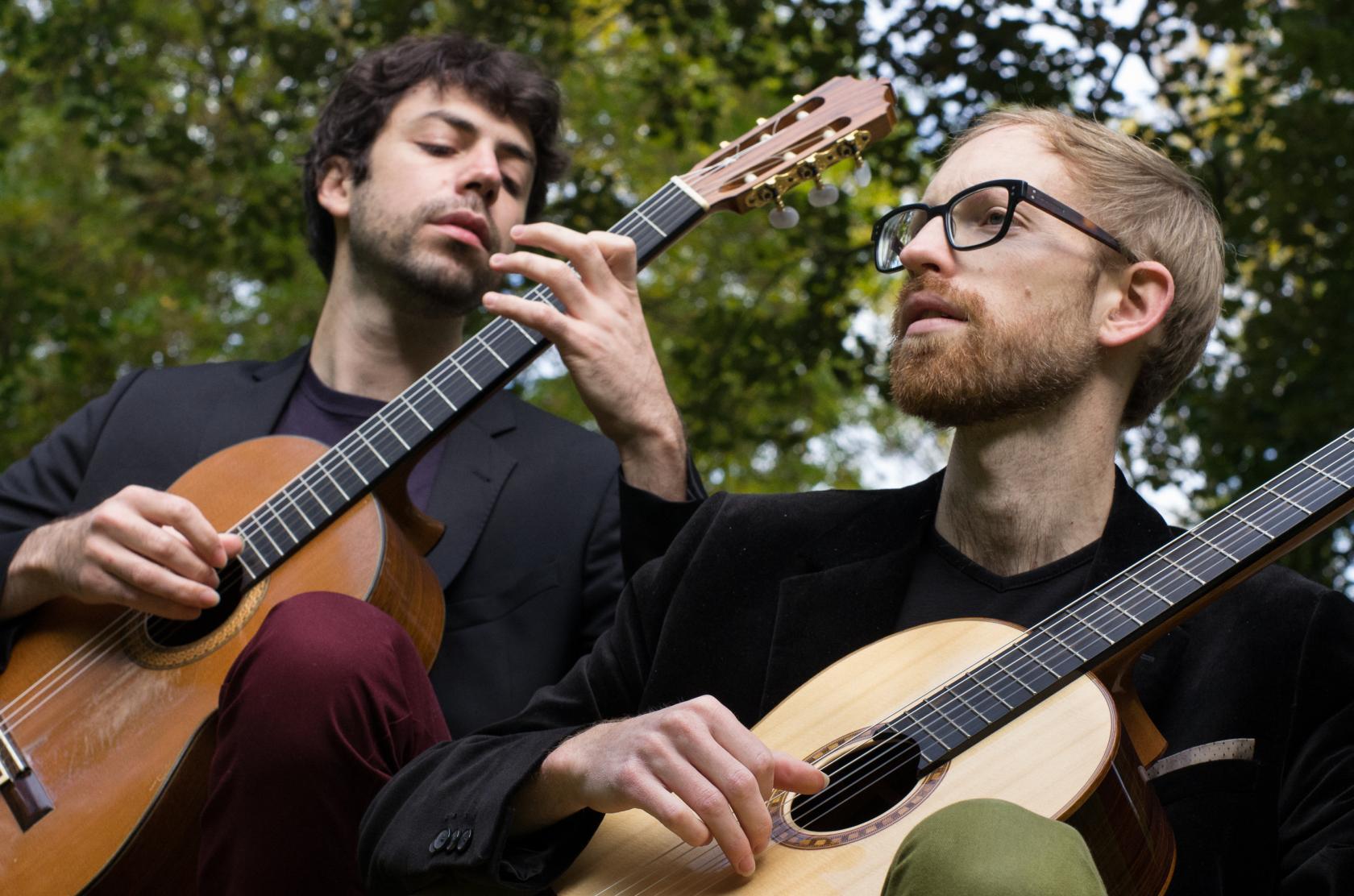 CONCERT DUO SOLARIS FLORIAN LAROUSSE & JEREMY PERET QUIMPERLE