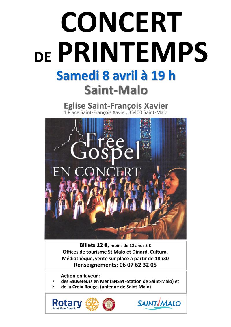 CONCERT FREE GOSPEL SAINT-MALO