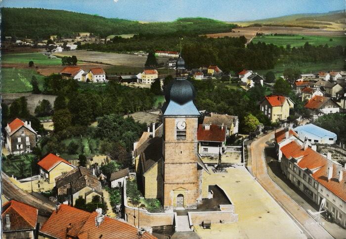 Corcieux, village reconstruit