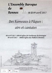 DES RAMEAUX A PAQUES- AIRS ET CANTATES RENNES