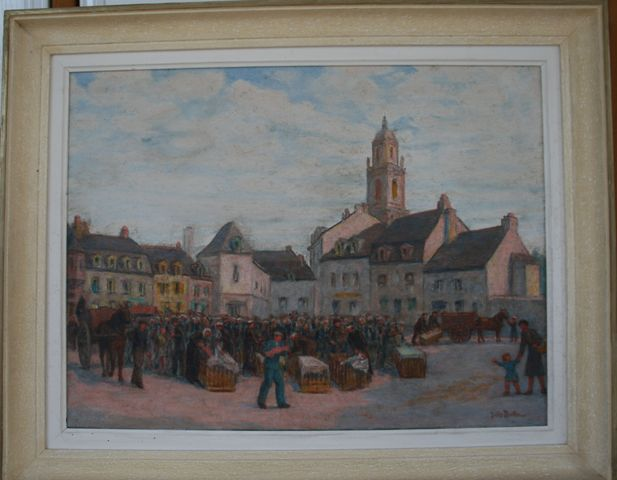 EXPOSITION A LA CHAPELLE DU SAINT-ESPRIT DE JULES DALLET AURAY
