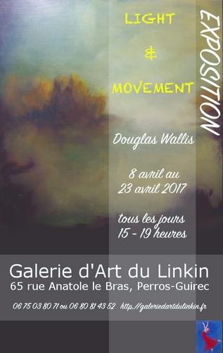 EXPOSITION DE DOUGLAS WALLIS LIGHT AND MOVEMENT PERROS-GUIREC