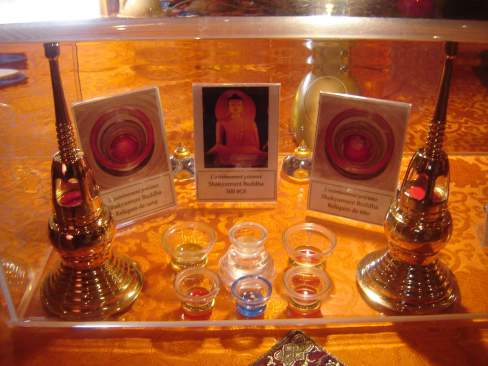 Exposition exceptionnelle de reliques bouddhiques