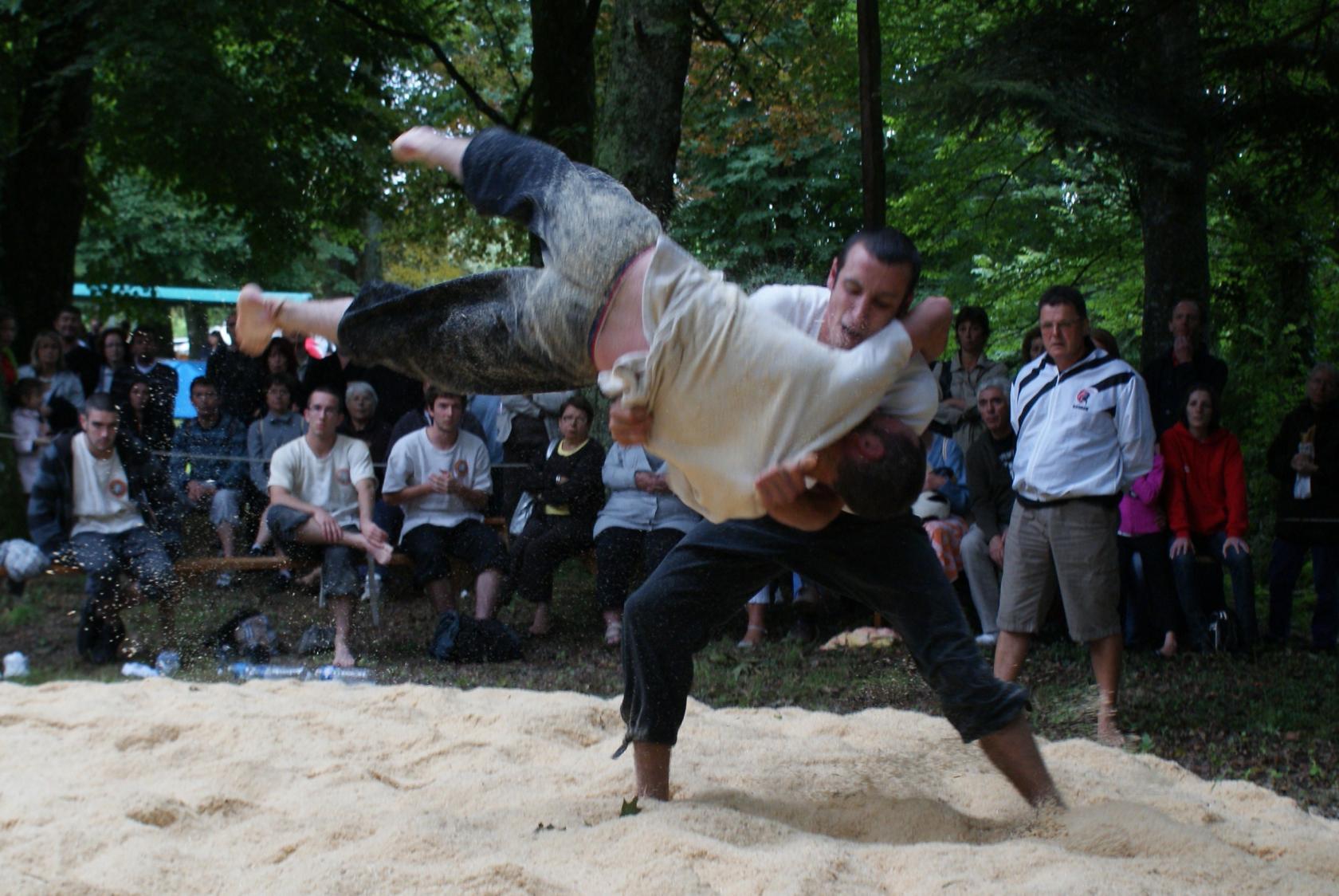 Fête des lutteurs Gouesnach