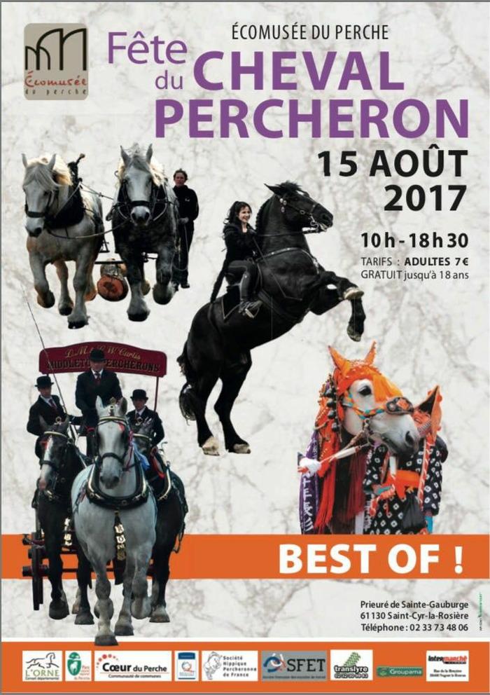 Fête du Cheval Percheron, à l'Ecomusée du Perche - St Cyr la Rosière (61)