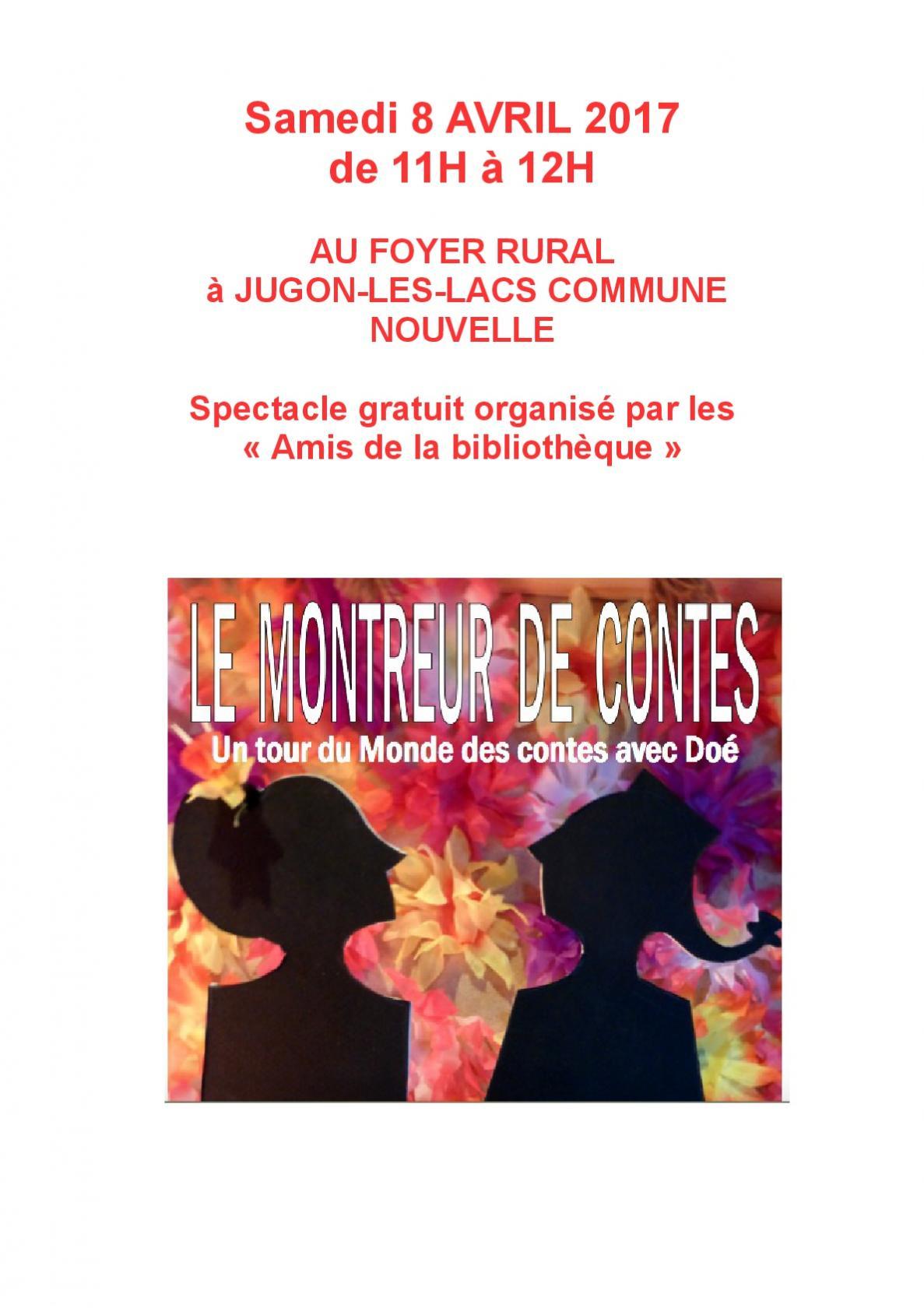 LE MONTREUR DE CONTES JUGON-LES-LACS COMMUNE NOUVELLE