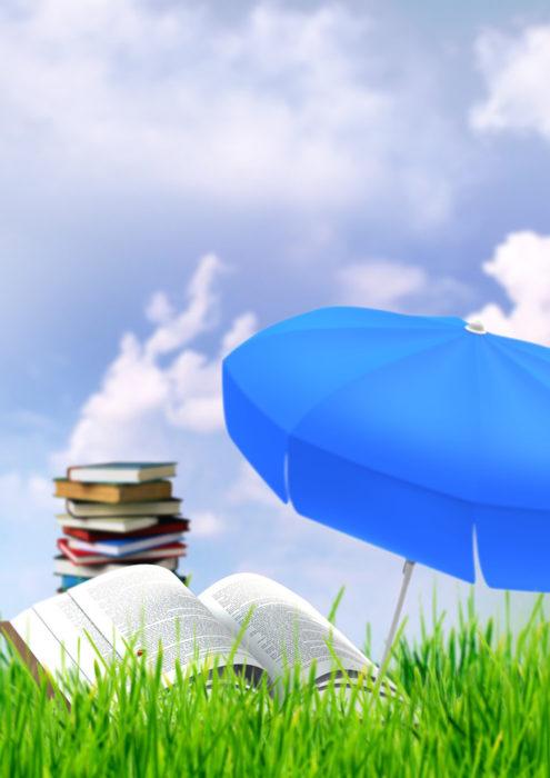 Lectures sur l'herbe, des histoires et des jeux !