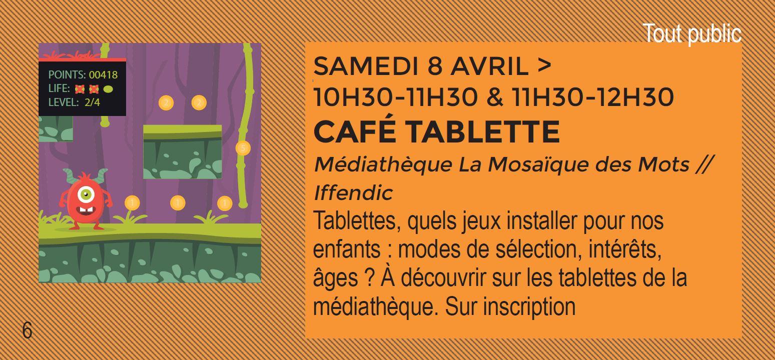 L'EFFET NUMERIQUE : CAFE TABLETTE IFFENDIC