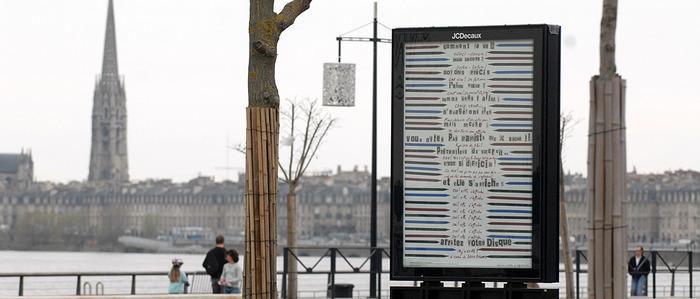 Paysages de mots, éditer la ville / Affiches de création, art et littérature