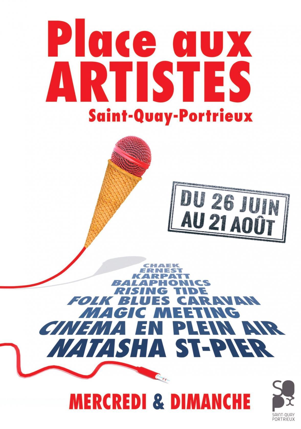 Place aux Artistes Saint-Quay-Portrieux