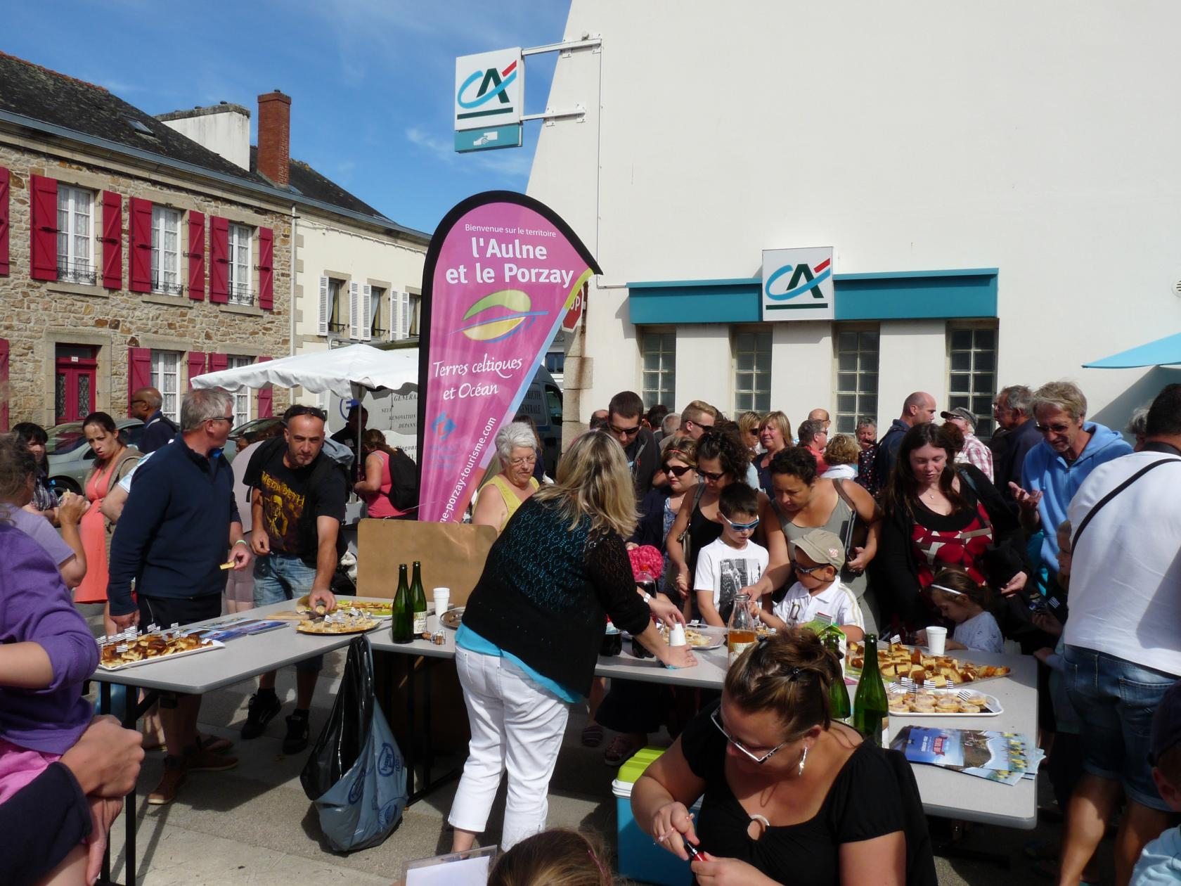 Pot d'accueil des estivants Plonévez-Porzay