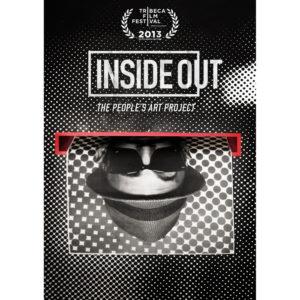 Projection du film Inside out sur le  street artist  JR