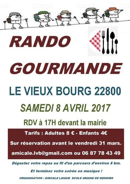 RANDO GOURMANDE LE VIEUX-BOURG
