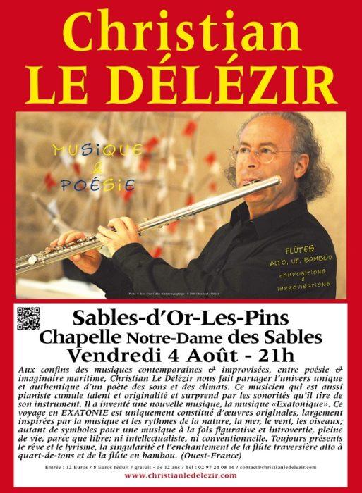 Récital Musique et Poésie Voyage en Exatonie à 21h Fréhel