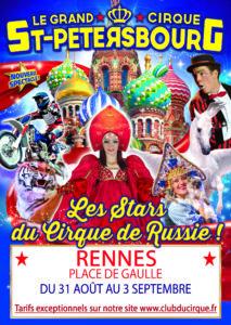 RENNES Grand Cirque de Saint-Pétersbourg